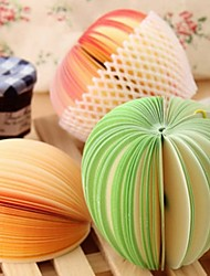 notas bonitos postá-lo almofadas criativas memorando de frutas diy kawaii adesivos papelaria coreano (cor aleatória)