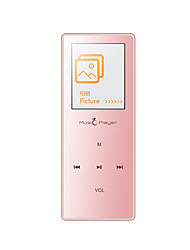 UnisCom MP3 Player MP3 / WMA / WAV / FLAC / APE / OGG / AAC Rechargeable Li-ion Battery