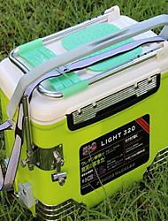 Angelkoffer Angelkasten Wasserdicht 1 Schale 60*30*32 PE(Polyethylen)