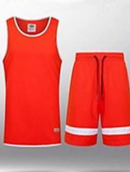 Herrn Kinder Kurze Ärmel Basketball Laufen Sweatshirt Oberteile Baggy Shorts Atmungsaktiv Schweißableitend Komfortabel Schwarz Grau RotXL