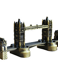 Display Model Model & Building Toy Toys Novelty Famous buildings Metal Bronze For Boys / For Girls
