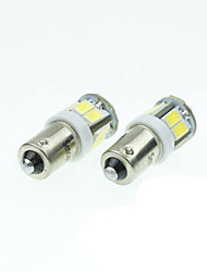 BAS BA9S T4W W6W 11LED 5730SMD white 5W 240-280LM 6000-6500K DC12-16V width light