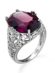 Hot Fashion Purple Zircon Ring Jewelry Wedding Jewelry wholesale