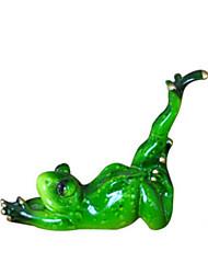 Modèle d'affichage Maquette & Jeu de Construction Jouets Nouveautés Grenouille Silikon Vert