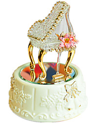 Music Box Spirited Away Creative Glass / Ceramics Gold For Boys / For Girls