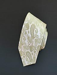 Галстук (Зеленый , Полиэстер) Узор
