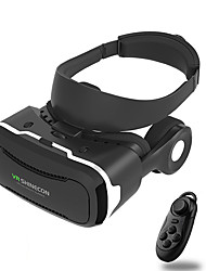 Integrated Earphone VR Shinecon 4.0 Virtual Reality 3D Glasses Headset with Gamepad