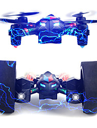 Drone CREATE TOYS DIY deformation UAV 2.4G RC Quadcopter LED Lighting / One Key To Auto-Return / Auto-Takeoff / 360°RollingRC Quadcopter