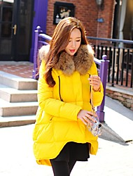 DABUWAWA Women's Regular Down CoatCute / Street chic / Active Going out / Casual/Daily / Sports Solid