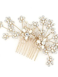Women's Rhinestone / Alloy Headpiece-Wedding / Special Occasion / Casual Headbands / Hair Combs / Flowers / Head Chain / Hair Tool 1 Piece