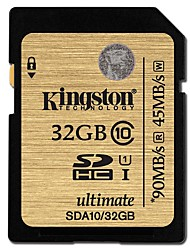 Kingston 32GB SD Karten Speicherkarte UHS-I U1 Class10
