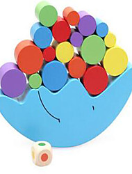 Alivia Estresse Blocos de Construir Brinquedo Educativo para presente Blocos de Construir Hobbies de Lazer Forma Cilindrica Madeira2 a 4