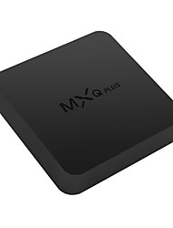 mxq Plus Amlogic S905 Android 5.1.1 Smart-TV-Box 4k hd 1g ram 8g rom Quad-Core-wifi schwarz