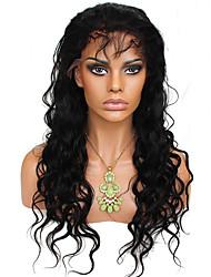 pleine de cheveux humains dentelle perruques mongolian vague de corps 8-24 pouces cheveux mongolian perruques couleur naturelle pleine