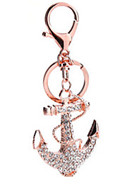 Key Chain Warship Key Chain / Gleam White Metal