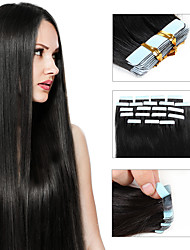 PU Seamless Hair Extension Anti emptied Human Wig Adhesive Glue Tapes Double Sided Tape 20pcs/pack 30g-50g