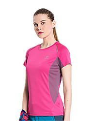 Women's Long Sleeve Running T-shirt Tops Breathable Quick Dry Windproof Spring Summer Sports WearYoga Taekwondo Climbing Golf Leisure