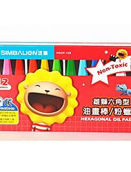 dos estudiantes de venta del paquete pintura 12 lápices de colores no tóxicos se pueden lavar
