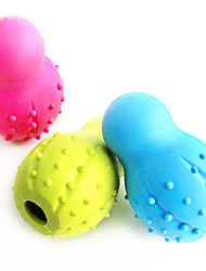 Dog Toy Pet Toys Chew Toy Bowling Random Color Rubber