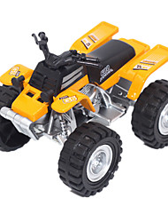 Educational Toy Model & Building Toy Motorcycle Metal Yellow For Boys / For Girls