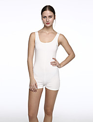 Women's Solid Slim Over Hip Sexy Backless Sport Jumpsuits,Sexy / Simple Round Neck Sleeveless