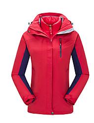 Damen Wanderjacke Wasserdicht warm halten Rasche Trocknung Windundurchlässig UV-resistant Anti-Ausrottung Atmungsaktiv Sichtbarer