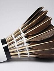 1 Pièce Badminton Volants de plumes Volants Faible résistance de l'air Haute résistance Haute élasticité Durable pourExtérieur Exercice