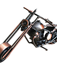 Modelo de Apresentação Modelo e Blocos de Construção Brinquedos Novidades Motocicletas Metal Bronze Para Meninos
