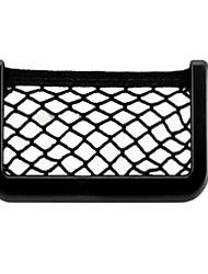 sac de rangement de voiture 20 * 8 sac de rangement filet de rangement sac étui de téléphone boîte voiture mobile poussière de stockage de