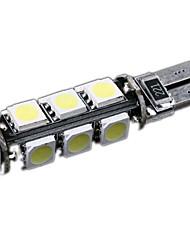 T10 W5W 194 927 161 CANBUS 13 5050 SMD LED Lumière de cale latérale de voiture ampoule de lampe Decode