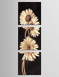 Canvas Set Landscape Floral/Botanical Modern Classic,Three Panels Canvas Square Print Wall Decor For Home Decoration