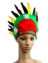 Headpiece Inspired by Cosplay Cosplay Anime Cosplay Accessories Headpiece Red Cotton Male / Female / Kid