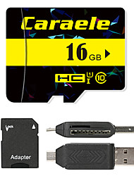 Caraele 16Go TF carte Micro SD Card carte mémoire UHS-I U1 Class10