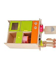 Brinquedos de Faz de Conta Hobbies de Lazer Novidades Quadrangular Madeira Arco-Íris Para Meninos Para Meninas