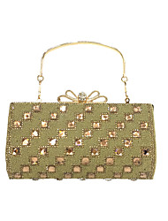 Women PU Formal / Event/Party / Wedding Evening Bag/Diamond Clutch/Handbag/Purse