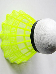 Badminton Balls 1 Piece Plastic High Elasticity Low Windage
