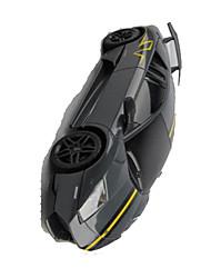 Автомобиль Гоночное судно 1:24 Бесколлекторный электромотор RC автомобилей 50km/h 2.4G Черный Готов к использованиюАвтомобиль
