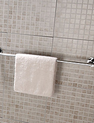 Stainless Steel Single Towel Bar- Silver