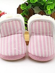 Baby Boots Comfort Fleece Casual Blue Yellow Pink