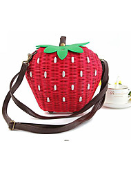 Women Straw Outdoor Shoulder Bag