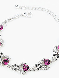 Bracelet Chain Bracelet Alloy Others Fashion / Personalized Birthday / Gift / Wedding / Party / Daily / Casual Jewelry Gift Purple,1pc