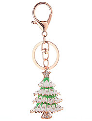 Key Chain Key Chain Green / Silver Metal