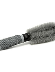 Car Steel Ring Brush Cleaning Tire Brush Car Wash Brush Wheel Brush Car Washing Tools