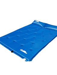 Almofada de Campismo Verde / Azul PVC