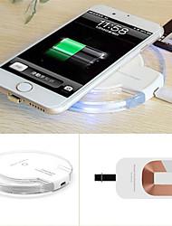 qi cobrando almofada carregador de energia sem fio para Samsung Galaxy S6 / edge / nexus conjunto g4 + receptor 4 g3 para iphone 5 / 5s / 6 /