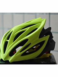 Helm ( Blau / Hellgrün / Fuchsia , PC / EPS ) - Berg / Strasse / Sport / Half Shell - für  Damen / Herrn / Unisex 20 ÖffnungenRadsport /