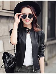 Для женщин Кожаные куртки