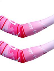 Manchettes Cyclisme Pare-vent Confortable Protectif Unisexe Rose dragée Bleu Térylène