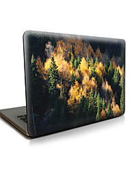 pour macbook air 11 13 / pro13 15 / pro avec retina13 15 / macbook12 arbres apple ordinateur portable cas