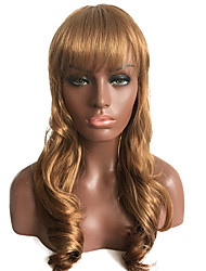 24Long Curly Gold Hair Wig Christmas Festival Wigs